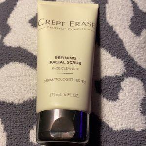 Crepe erase refining facial scrub
